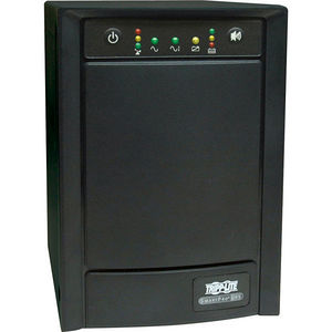 Tripp Lite SMART1500SLT UPS Smart 1500VA 900W Tower AVR 120V Pure Sine Wave USB DB9 LEDS 8 Outlet