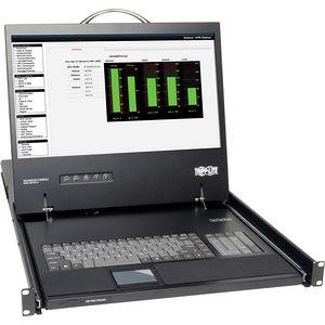 """Tripp Lite B021-000-19 Rack Console KVM Cable Kit w/ 19"""" LCD PS/2 1U TAA GSA"""