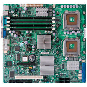 Supermicro MBD-X7DVL-L-O Server Motherboard - Intel 5000V Chipset - Socket J LGA-771 - 1 x Retail