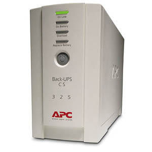 APC BK325I Back-UPS CS 325VA w/o Software