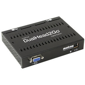 Matrox D2G-A2D-IF DualHead2Go Digital Edition - VGA