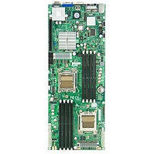Supermicro MBD-H8DMT-IBXF-B Server Motherboard - NVIDIA MCP55 Pro Chipset - Socket F LGA-1207 -Bulk