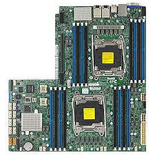 Supermicro MBD-X10DRW-NT-O Server Motherboard - Intel Chipset - Socket LGA 2011-v3 - 1x Retail Pack
