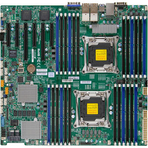 Supermicro MBD-X10DRI-LN4+-O Server Motherboard - Intel C612 Chipset - Socket LGA 2011-v3 - Retail