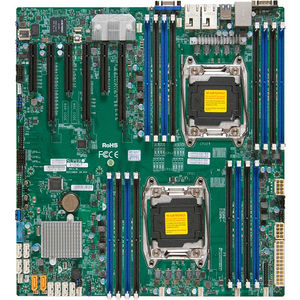 Supermicro MBD-X10DRI-O Server Motherboard - Intel C612 Chipset - Socket LGA 2011-v3 - Retail Pack