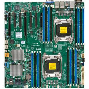 Supermicro MBD-X10DRH-CLN4-O Server Motherboard - Intel C612 Chipset - Socket LGA 2011-v3 - Retail