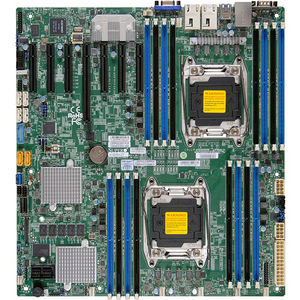 Supermicro MBD-X10DRH-IT-O Server Motherboard - Intel C612 Chipset - Socket LGA 2011-v3 - Retail
