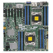 Supermicro MBD-X10DRH-C-O Server Motherboard - Intel C612 Chipset - Socket LGA 2011-v3 - Retail