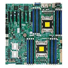 Supermicro MBD-X9DRH-7F-O Server Motherboard - Intel C602-J Chipset - Socket R LGA-2011 - Retail