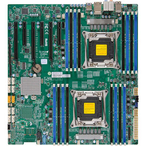 Supermicro MBD-X10DAC-B Server Motherboard - Intel C612 Chipset - Socket LGA 2011-v3 -Bulk