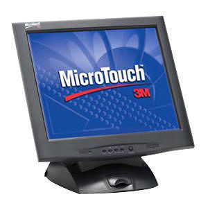 3M 11-91378-225 MicroTouch M1700SS Touchscreen LCD Monitor - 17""