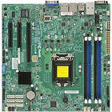 Supermicro MBD-X10SLM+-F-B Server Motherboard - Intel C224 Chipset - Socket H3 LGA-1150 - 1 x Bulk