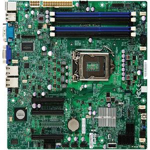 Supermicro MBD-X9SCL-B X9SCL Desktop Motherboard - Intel C202 Chipset - Socket H2 LGA-1155 - Bulk