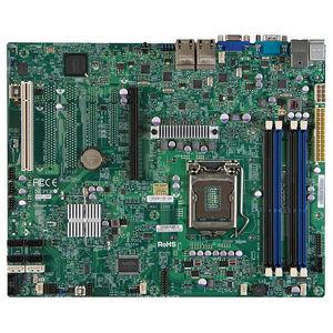 Supermicro MBD-X9SCI-LN4F-O Server Motherboard - Intel C204 Chipset - Socket H2 LGA-1155 - Retail