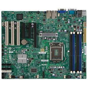 Supermicro MBD-X9SCA-O Server Motherboard - Intel C204 - LGA-1155 - Bulk