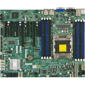 Supermicro MBD-X9SRL-B X9SRL Server Motherboard - Intel C602 Chipset - Socket R LGA-2011 - 1 x Bulk