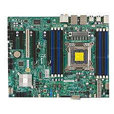 Supermicro MBD-X9SRA-B X9SRA Server Motherboard - Intel C602 Chipset - Socket R LGA-2011 - Bulk