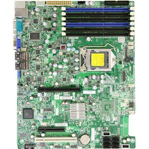 Supermicro MBD-X8SIE-O X8SIE Desktop Motherboard - Intel 3420 Chipset - Socket H LGA-1156 - Retail