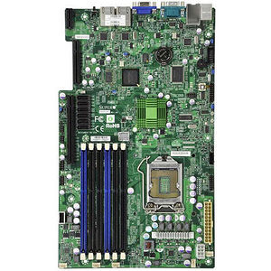 Supermicro MBD-X8SIU-F-B X8SIU-F Server Motherboard - Intel 3420 Chipset - Socket H LGA-1156 - Bulk