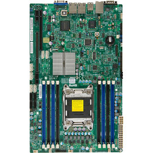 Supermicro MBD-X9SRW-F-O Server Motherboard - Intel C602 Chipset - Socket R LGA-2011 - Retail