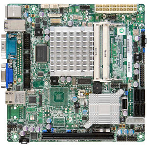 Supermicro MBD-X7SPE-H-D525-B Desktop Motherboard - ICH9R Chipset - Intel Atom D525 2 Core 1.80 GHz