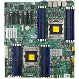 Supermicro MBD-X9DRD-7JLN4F-O Server Motherboard - Intel C602-J Chipset - Socket R LGA-2011
