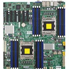 Supermicro MBD-X9DRD-7LN4F-JBOD-B Server Motherboard - Intel C602-J Chipset - Socket R LGA-2011