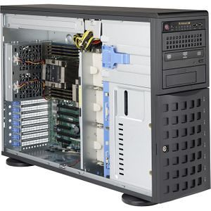 Supermicro SYS-7049P-TRT 4U Rack/Tower Barebone - Intel Chipset C622 - Dual Socket P LGA 3647