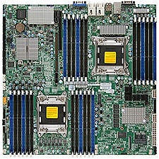 Supermicro MBD-X9DRD-CNT+-O Server Motherboard - Intel C602 Chipset - Socket R LGA-2011 - Retail