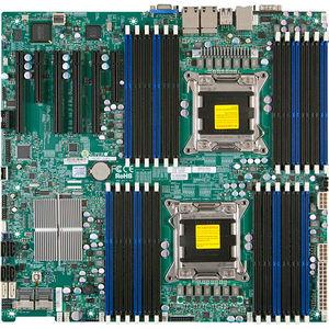 Supermicro MBD-X9DRI-LN4F+-B Server Motherboard - Intel C602 Chipset - Socket R LGA-2011 - Bulk
