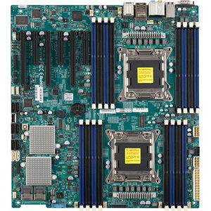 Supermicro MBD-X9DA7-O Workstation Motherboard - Intel C602 Chipset - Socket R LGA-2011 - Retail