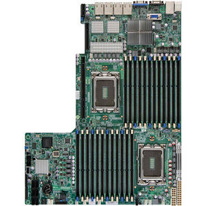 Supermicro MBD-H8DGU-LN4F+-B Server Motherboard - AMD SR5690 Chipset - Socket G34 LGA-1944 - Bulk
