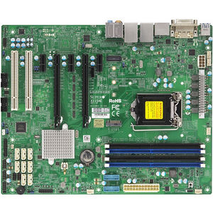 Supermicro MBD-X11SAE-B Workstation Motherboard - Intel C236 LGA 1151 - Bulk