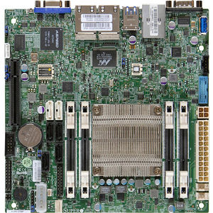 Supermicro MBD-A1SRI-2758F-O Desktop Motherboard - Intel Atom C2758 (8 Core) - FCBGA 1283 - Retail