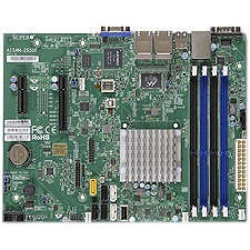 Supermicro MBD-A1SAM-2550F-O Desktop Motherboard - Intel Atom C2550 (4 Core) - BGA 1283 -Retail
