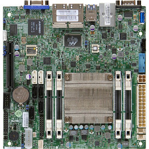 Supermicro MBD-A1SAI-2750F-O Desktop Motherboard - Intel Atom C2750 (8 Core) - Retail