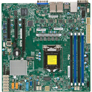 Supermicro MBD-X11SSH-LN4F-O Server Motherboard - Intel C236 - LGA 1151 - Retail