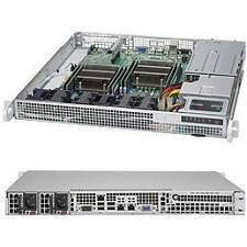 Supermicro SYS-6018R-MDR 1U Rack-mount - Intel C612 Express Chipset - Socket LGA 2011-v3 - 2 x CPU
