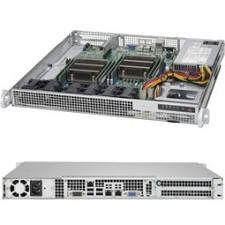 Supermicro SYS-6018R-MD 1U Rack-mount Barebone - Intel C612 Chipset - Socket LGA 2011-v3 - 2 x CPU