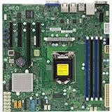 Supermicro MBD-X11SSM-F-O Server Motherboard - Intel C236 Chipset - Socket H4 LGA-1151 - 1 x Bulk