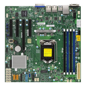 Supermicro MBD-X11SSM-O Server Motherboard - Intel C236 Chipset - Socket H4 LGA-1151 - Bulk Pack