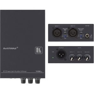 Kramer 102XL 2 Channel Balanced Audio Mixer