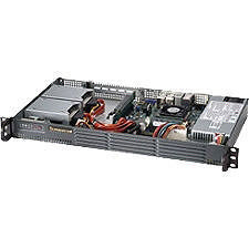 Supermicro SYS-5017P-TLN4F 1U Rack Server - 1 x Intel Core i7 i7