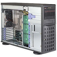 Supermicro SYS-7048R-C1R 4U Tower Barebone - Intel C612 Express Chipset - LGA 2011-v3 - 2 x CPU