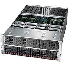 Supermicro SYS-4027GR-TRT Barebone System - 4U - Intel C602 Chipset - Socket R LGA-2011 - 2 x CPU