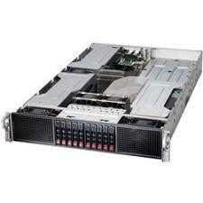 Supermicro SYS-2028GR-TRH 2U Rackmount Barebone - Intel C612 - 2X Socket LGA 2011-v3 - 4X GPU