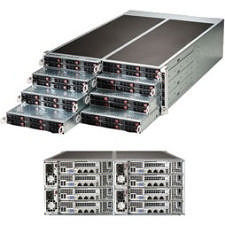 Supermicro SYS-F618R2-RT+ Barebone System - 4U - C612 Chipset - 8x Nodes - LGA 2011-v3 - 2x CPU