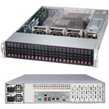 Supermicro SSG-2027R-AR24NV Barebone - Intel C602 Chipset - Socket R LGA-2011 - 2x CPU