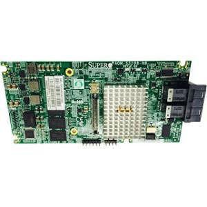 Supermicro AOM-S3108M-H8 Low Profile 12Gb/s Eight-Port SAS Internal RAID Adapter