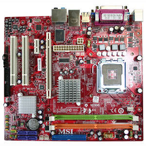 MSI 609-96C4-03S 945GC Networks Server Motherboard - Intel Chipset